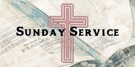 Sunday Service (no sunday school or creche) tickets
