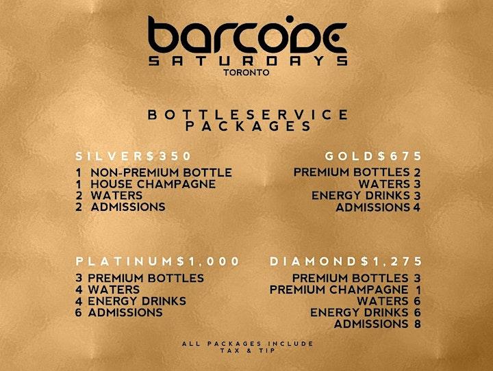 Barcode Saturdays Downtown Toronto's Biggest Urban Party image
