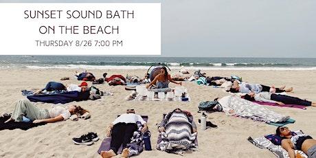 Sunset Sound Bath and Breathwork Meditation on the Beach tickets