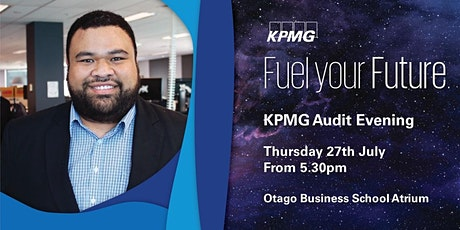 KPMG Audit Networking Evening Dunedin 2021 tickets