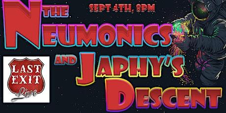 The Neumonics + Japhy's Descent tickets