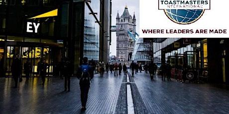 MLP London Bridge Toastmasters meeting ONLINE tickets
