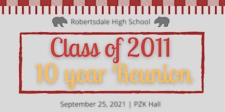 Class of 2011: 10 Year Reunion tickets