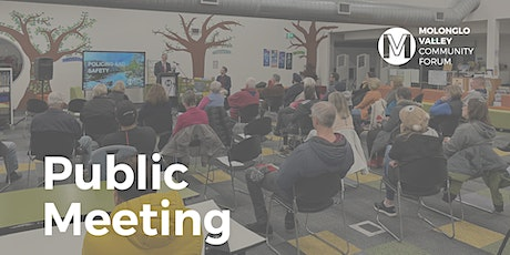 August Public Meeting - Molonglo Valley Community Forum tickets