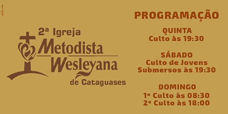 Culto De Domingo (25/07/2021) às 08:30hs ingressos