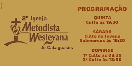 Culto De Domingo (25/07/2021) às 18:00hs ingressos