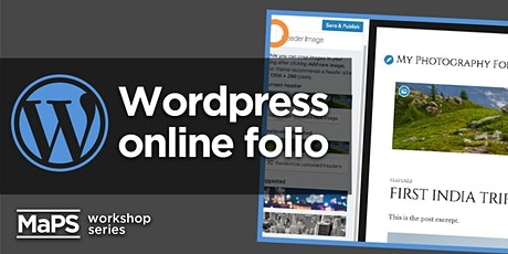 Publishing your online portfolio using WordPress tickets