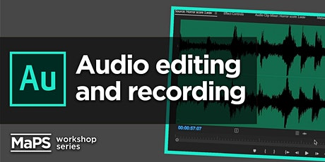 Audio Recording & Adobe Audition Foundations tickets