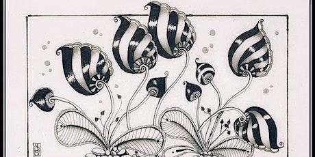 Zentangle Art & Bubbles workshop tickets