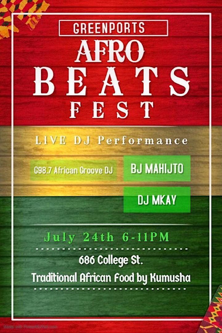 GreenPort Presents: Afro-Beats Fest image