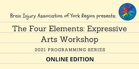 The Four Elements: Expressive Arts Workshop - 2021 BIAYR Programming Series tickets