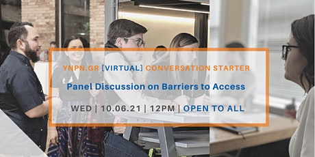 Panel Discussion on Barriers to Access tickets