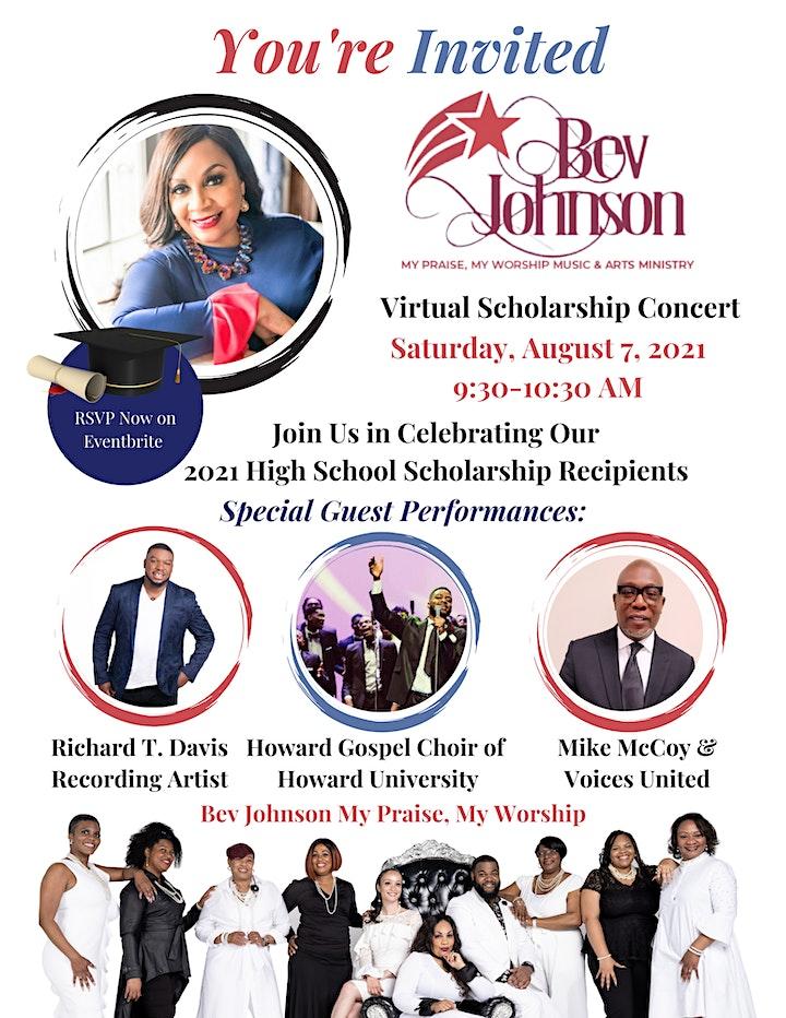 Bev Johnson Virtual Scholarship Concert image