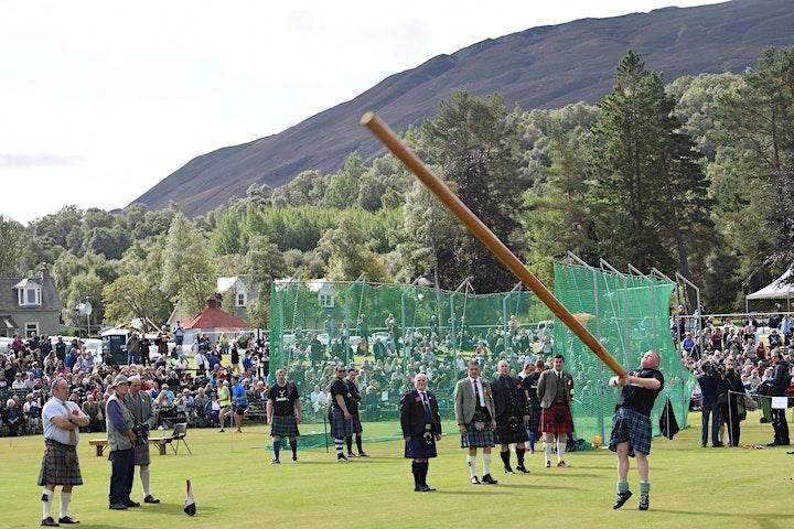 The Grampian Highland Games Gathering image