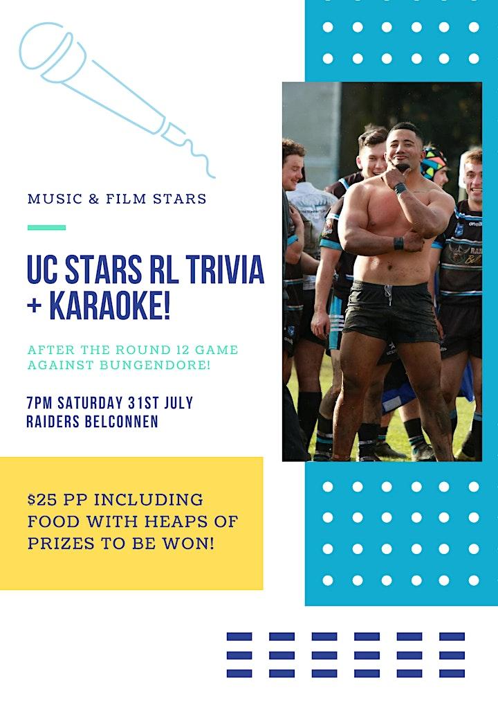 UC Stars RLFC Trivia Night image