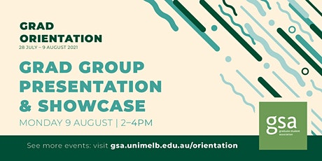 GSA Grad Group Pres & Showcase tickets