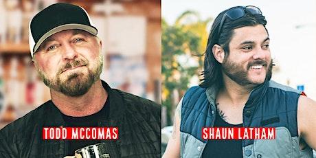 Todd McComas & Shaun Latham - Comedy Night @ Pennington's! tickets