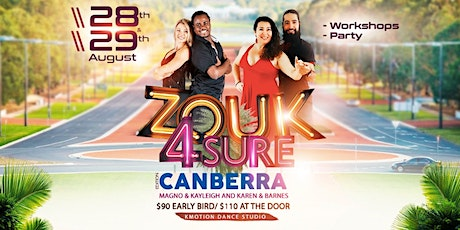 Zouk4Sure - Canberra tickets