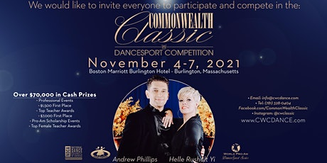 Commonwealth Classic Dancesport Competition 2021 tickets