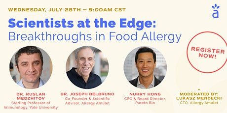 Scientists at the Edge: Breakthroughs in Food Allergy tickets