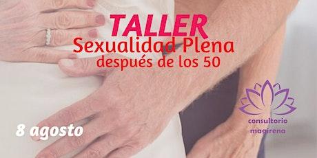 Sexualidad PLENA post 50 boletos