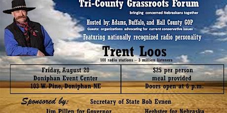 Tri- County Grassroots Forum tickets