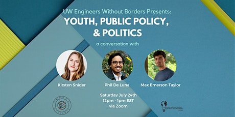 A Conversation About Youth, Public Policy and Politics tickets
