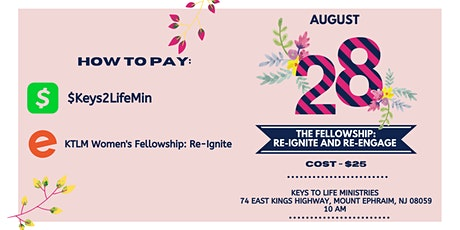 The Fellowship: Re-Ignite and Re-Engage [Women's Meet & Greet] tickets