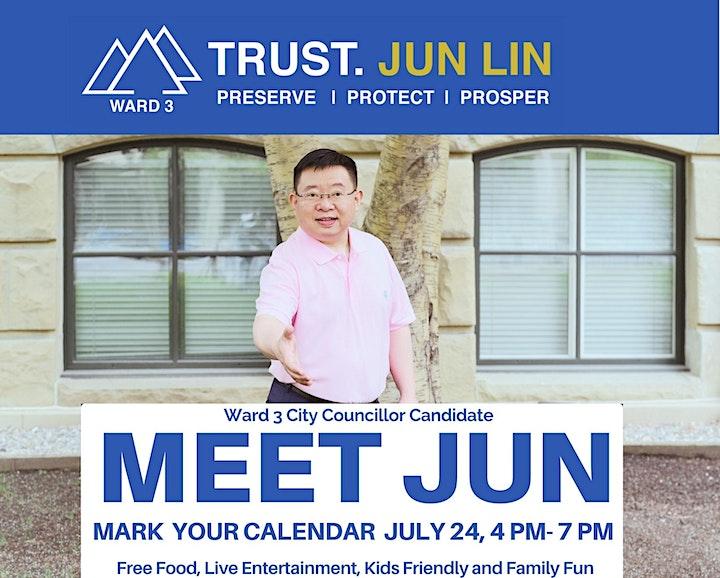 Meet and Greet - Jun Lin - Ward 3 Councillor Candidate image