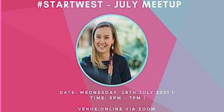 #StartWest - July  Meetup tickets