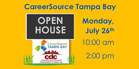 CareerSource Tampa Bay Open House tickets