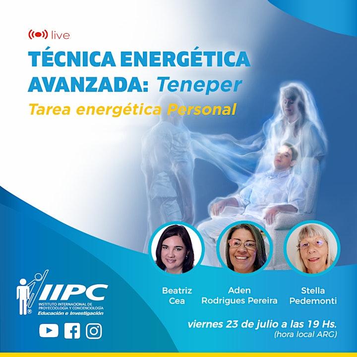 Imagen de Técnica energética avanzada: Teneper - Tarea energética Personal