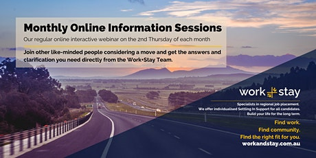 Work+Stay Online Information Session tickets