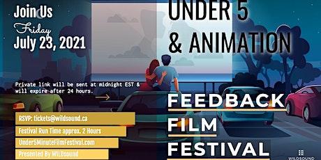 Animation & Under 5min.(FREE) Virtual Film Festival this Friday night tickets