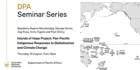 Pan-Pacific Indigenous Responses to Globalisation and Climate Change tickets