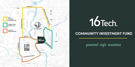 16 Tech Community Investment Fund: General Info Session tickets