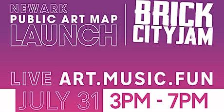 Newark Public Art Map Launch tickets