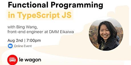 Learn Functional Programming in TypeScript JS - Online Workshop Tickets