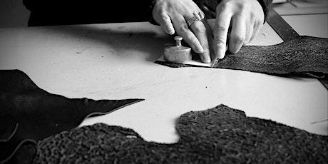 Confection d'un sac en cuir - Atelier de maroquinerie billets