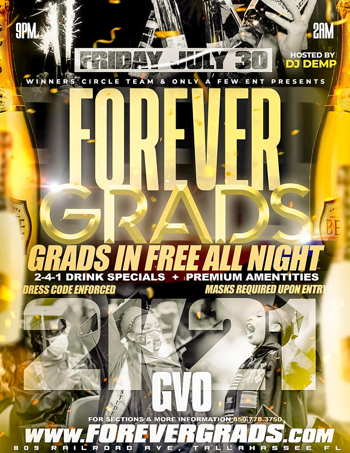 Forever Grads SUMMER 21' Edition Tallahassee Graduation image