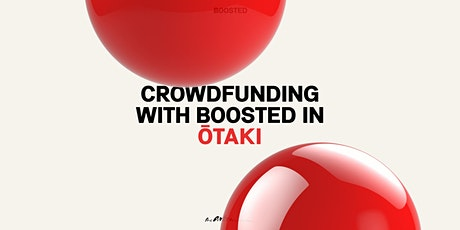 Crowdfunding with Boosted in Ōtaki tickets