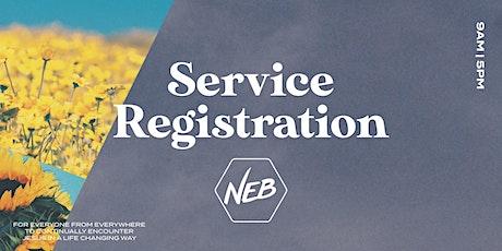 9am Service Sunday 25th July 2021 tickets