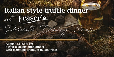 Italian style truffle dinner | Private Dining Room tickets