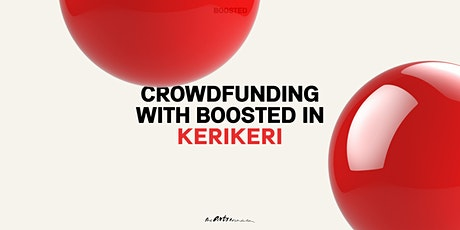 Crowdfunding with Boosted in Kerikeri tickets