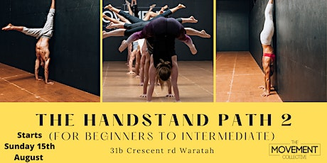 The Handstand Path tickets