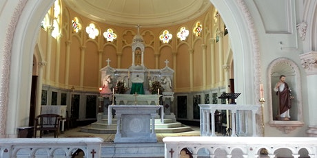 5.00pm Sunday Mass     Allocated Seating     25th July tickets