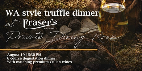 Cullen wines truffle dinner | Private Dining Room tickets