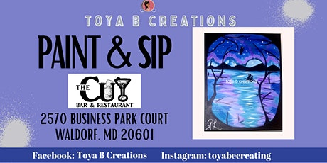 Lady's Night Paint and Sip @The Cut Bar and Restaurant tickets