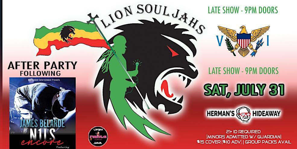 LION SOULJAHS (late show – 9pm doors)