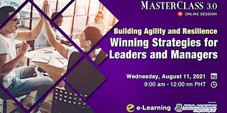 Building Agility and Resilience: Winning Strategies for Leaders and Manager tickets